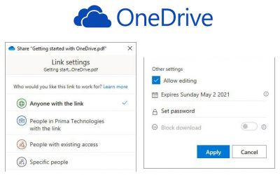 Sharing From OneDrive – Work Smarter with OneDrive