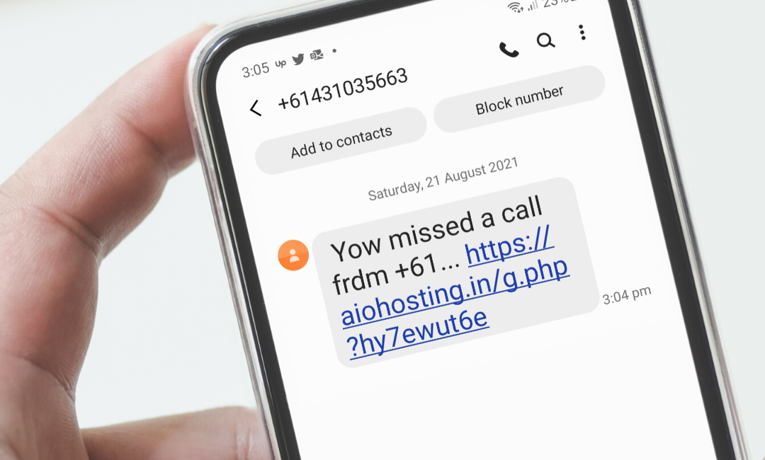 Phone text danger! – Flubot